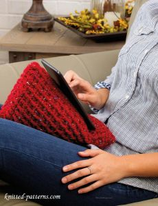 Tablet wedge crochet pattern