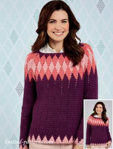 Sweater crochet pattern