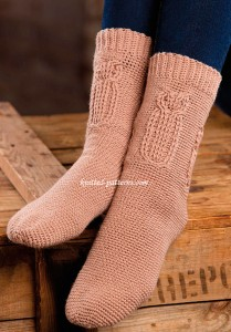 Woodland Owl Socks