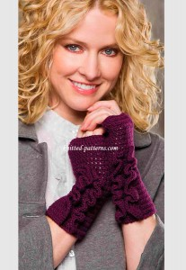Aster Fingerless Gloves