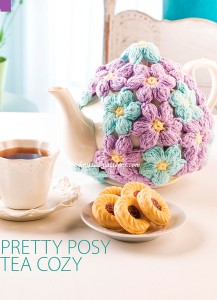 Pretty posy tea cozy
