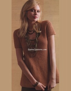 Make A Statement Tunic - Crochet