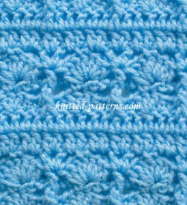 Posts and Shells - Crochet Stitch