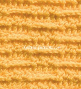 Tracks - Crochet Stitch