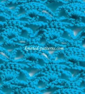 Floating Chains - Crochet Stitch.