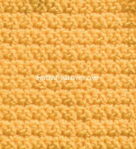 Corn Rows - Crochet Stitch