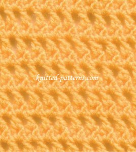 Single Shells - Crochet Stitch