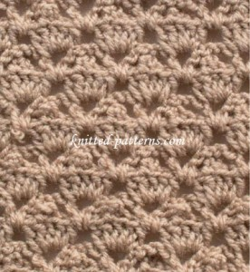 Simply Shells - Crochet Stitch