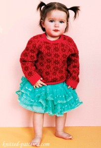 Girl's Fair Isle Jumper