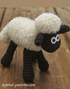 Amigurumi toy - Shaun the Sheep