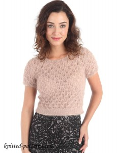 Women's Top: free knitting pattern