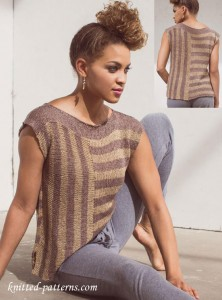 Easy Tee: Free Knitting Pattern