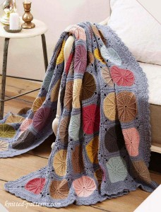 Free Crochet Patchwork Throw