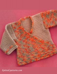 Crochet baby top pattern free