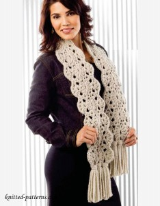 Crochet scarf patterns free