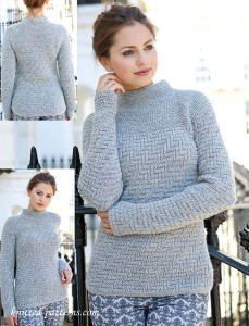 Zigzag Jumper Knitting Pattern Free
