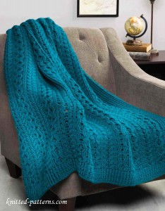 Cable Throw Crochet Pattern Free