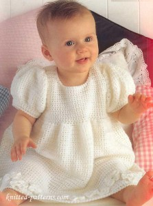 Baby girl dress crochet pattern free