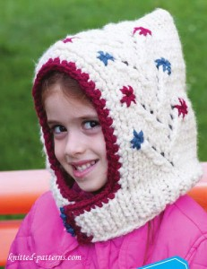 Girl hat knitting pattern free