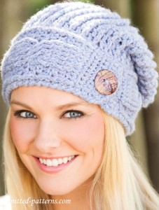 Cable hat crochet pattern free