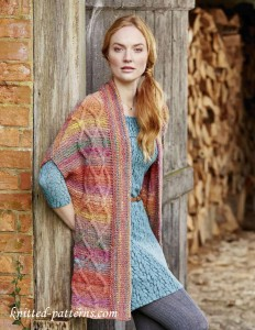 Cabled cardigan knitting pattern free
