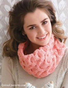 Cabled cowl knitting pattern free