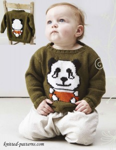 Baby jumper knitting pattern free