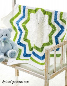 Ripple blanket crochet pattern free