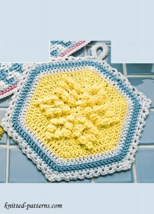 Pot Holder Crochet Pattern Free