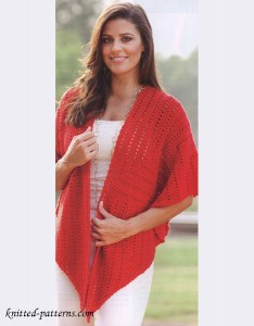 Shawl crochet pattern
