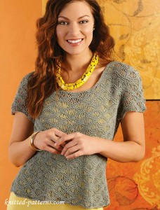 Tee knitting pattern