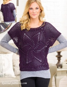 e04190bab Womens pullover crochet patterns