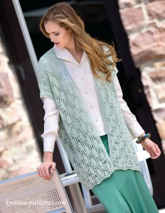 Womens Knit Vest Patterns