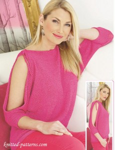 Top knitting pattern