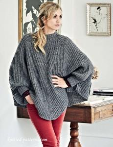 b3edbfa07ecb Free women s ponchos knitting patterns
