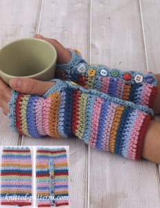 Mitts crochet patterns