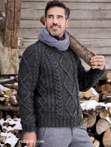 fe139b33a4278d Men s pullovers and sweaters knitting patterns