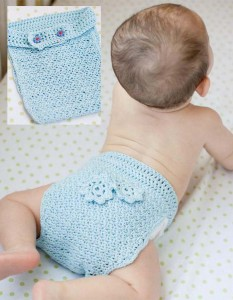 Buttoned-up diaper cover