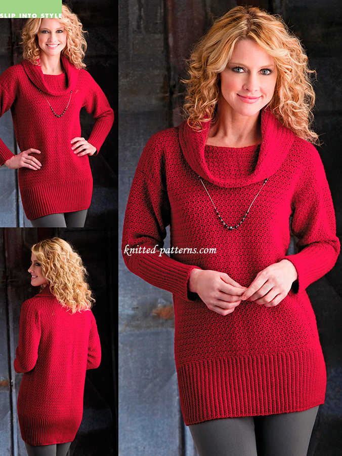 Cranberry Sweater Tunic
