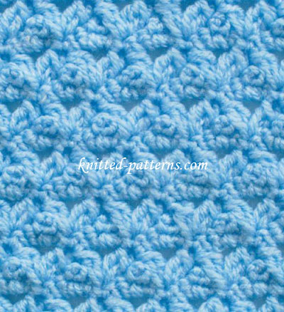 Little Peaks - Crochet Stitch