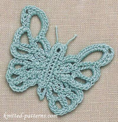 Free Butterfly Crochet Patterns
