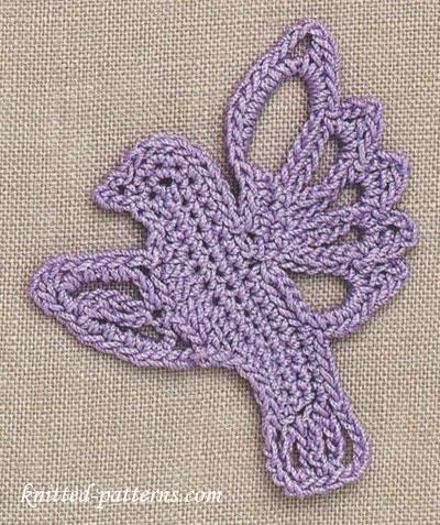 Songbird: Free  Crochet Motif Pattern