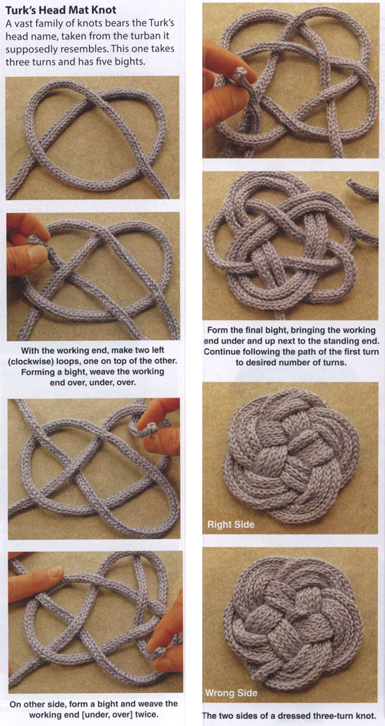 Knotted Coasters Amp Trivets