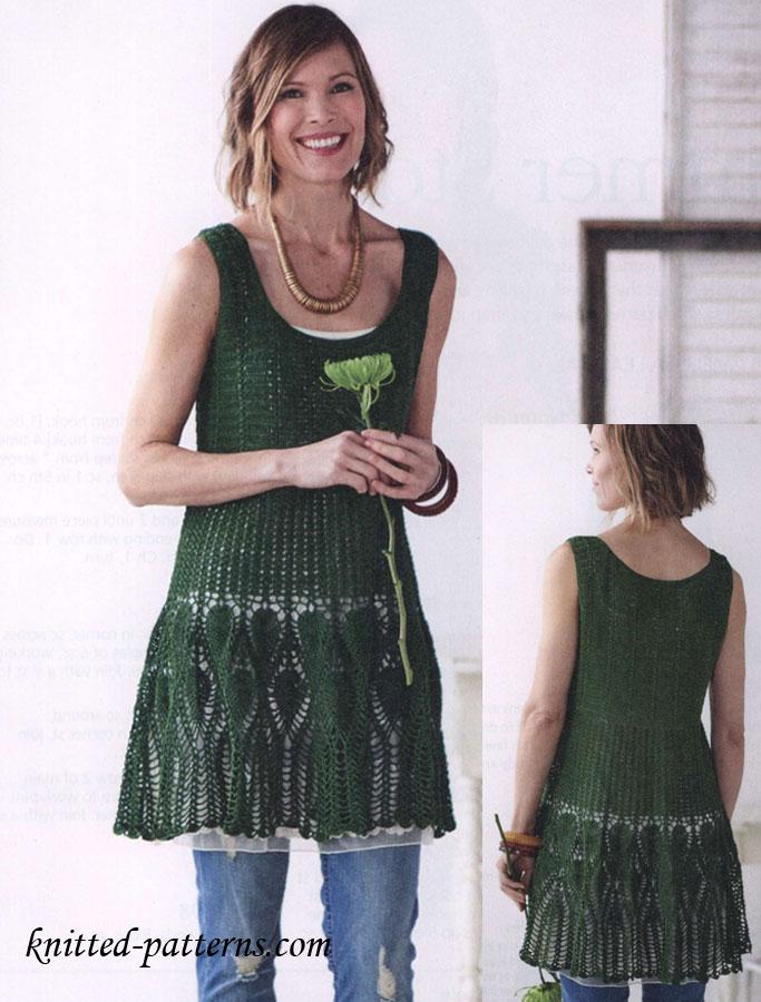 Summer Dress Crochet Pattern Free