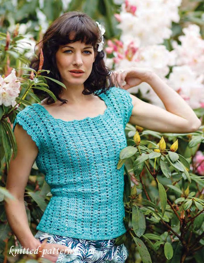 Summer Top Free Crochet Pattern
