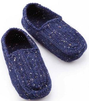 Mens Slippers Crochet Pattern Free