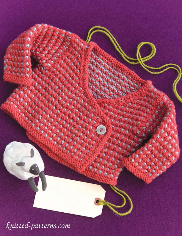 Baby Kimono Knitting Pattern Free