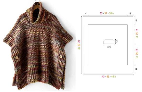 Poncho Crochet Pattern Free
