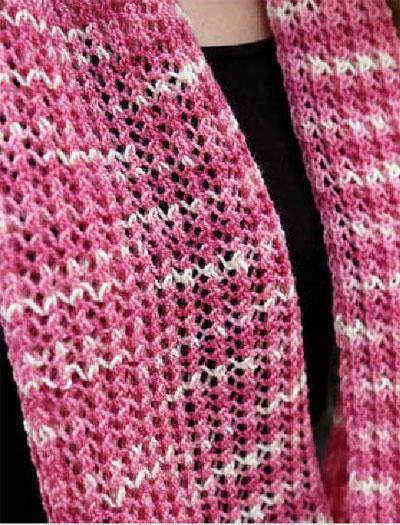 Lace Snood Knitting Pattern Free