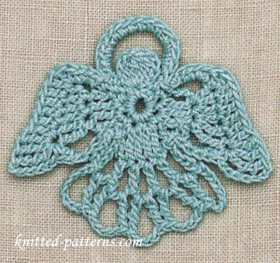 Angel Free Crochet Motif Pattern